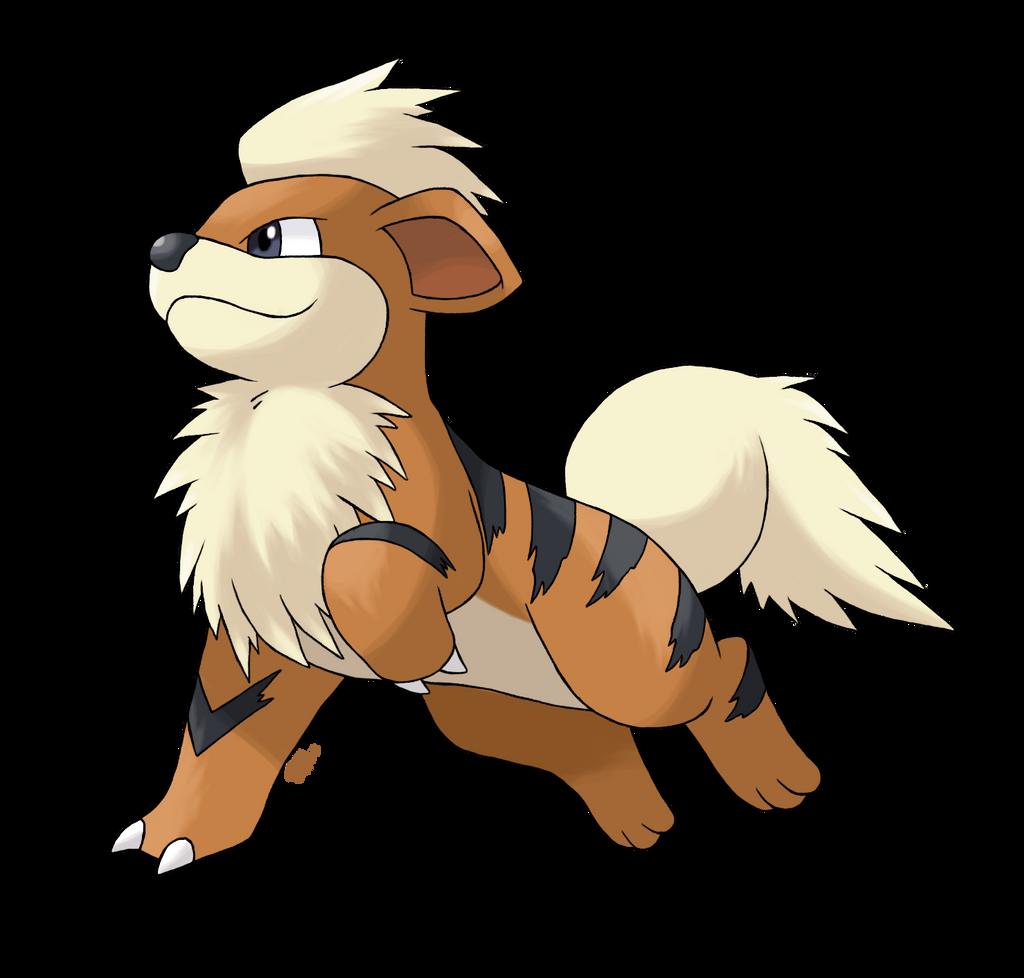 Growlithe Evolution Caninos - growlithe by alouneaGrowlithe