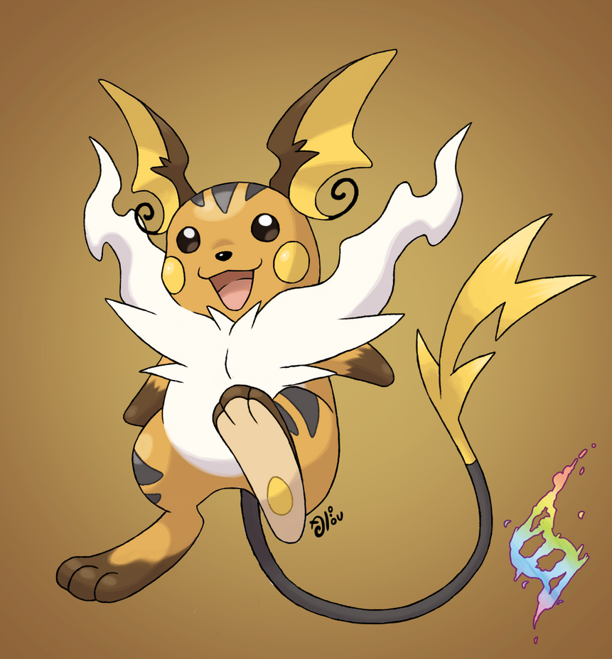 Mega raichu by alounea on deviantart - Pokemon x raichu mega evolution ...