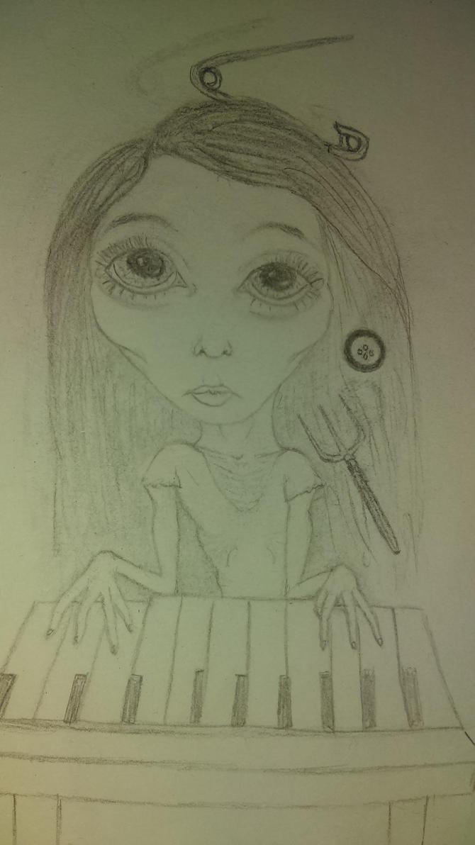 sketch by indigomoon-child
