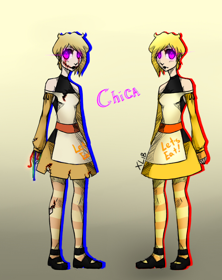 Chica   Old Chica by BlackLu11aby on DeviantArt