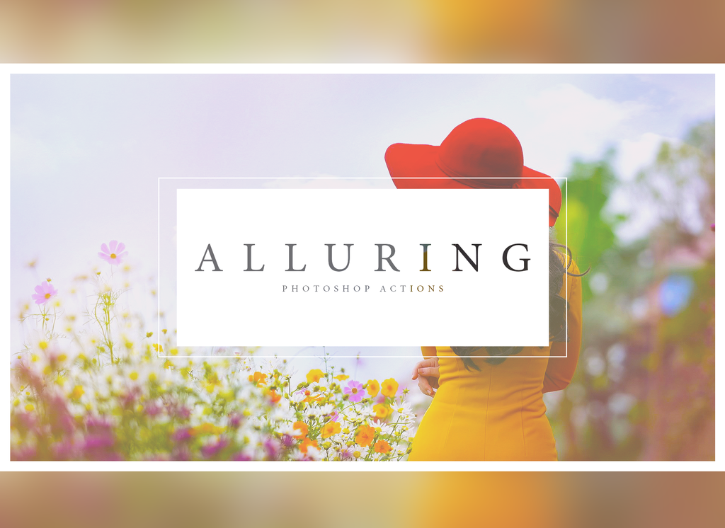 'Alluring' Photoshop Actions by ShekFilters