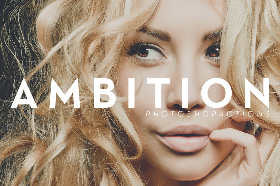 Ambition | Photoshop Actions by ShekFilters
