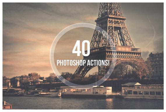 DEAL STEAL! Photoshop Actions by ShekFilters