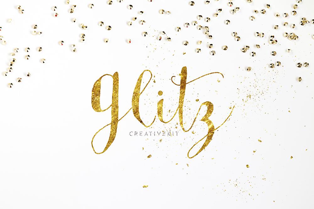 GLITZ | Gold glitter creativekit!  Qty by ShekFilters