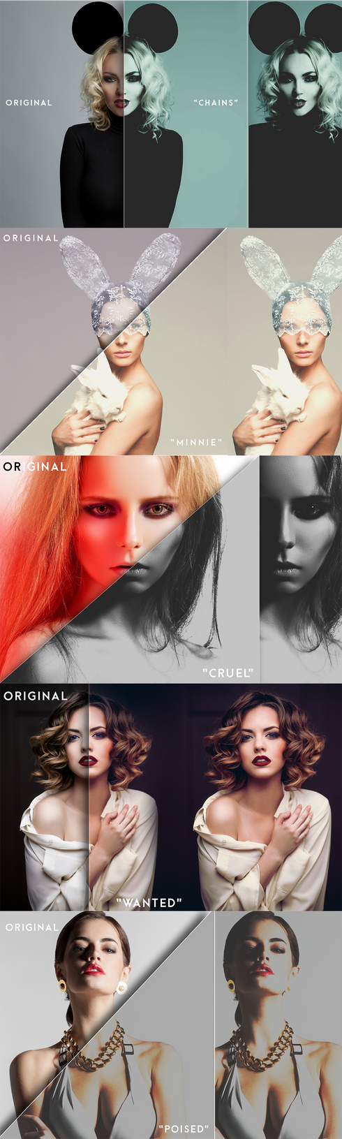 Salience Photoshop Actions by ShekFilters