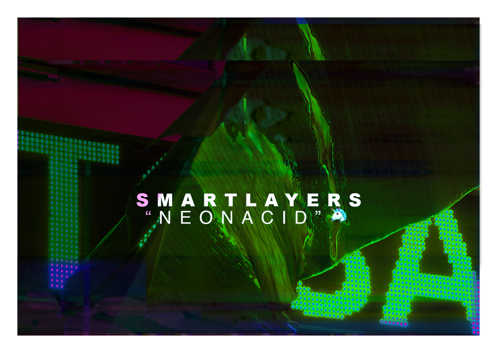 NEON ACID Smart PSD Layer Effects by ShekFilters