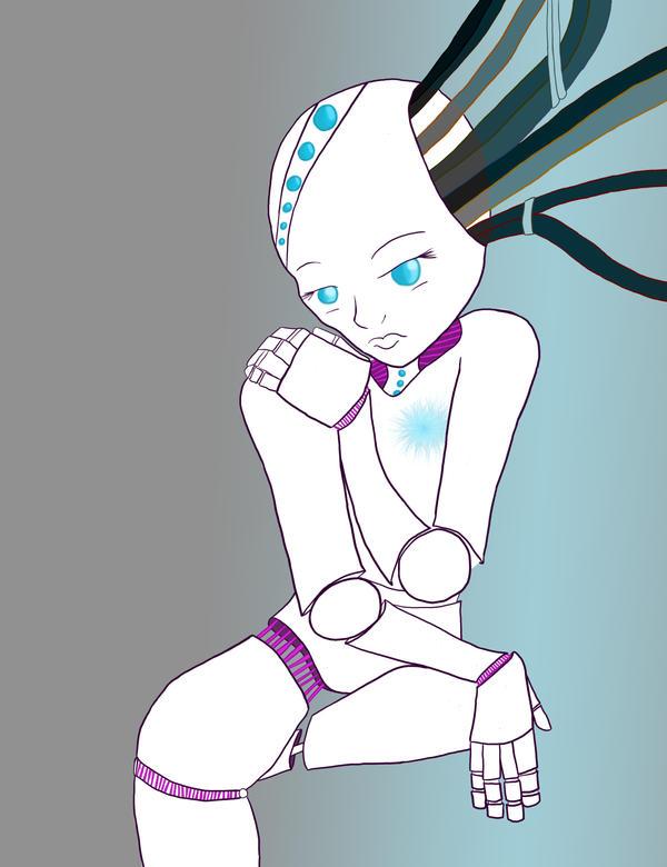 Week 2 - Cyborg by kitty-eared-girl