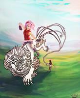 Sakura and Sai by Blishhed