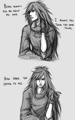 Madara - about that hair
