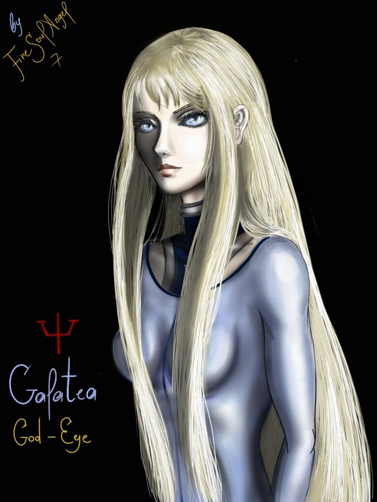 Claymore~Galatea the God-Eye by FireSoulAngel7