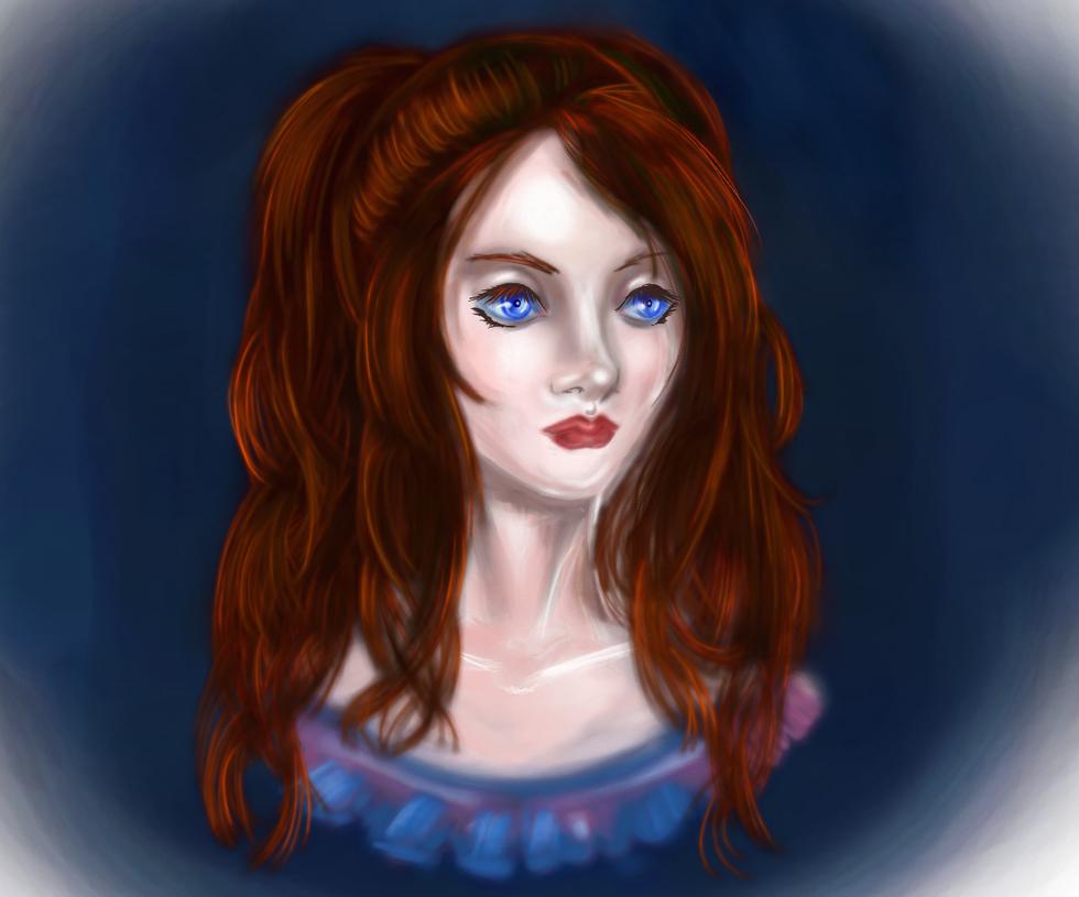 Yunia - the awakenbeing (OC Claymore) by FireSoulAngel7
