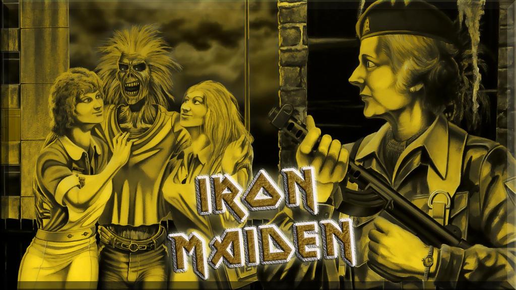 Iron Maiden - Women In Uniform