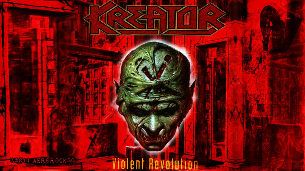Kreator Violent Revolution Wallpaper By Aerorock36 On