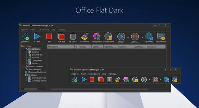 Office Flat Dark IDM