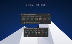 Office Flat Dark 7-Zip theme