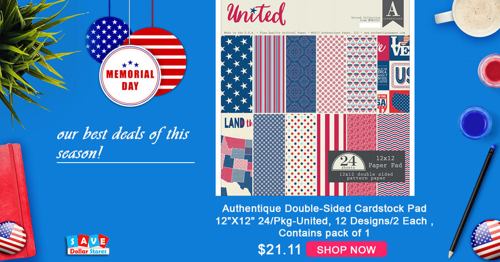 Online Craft Supplies For Memorial Day Usa By Savedollarstores On