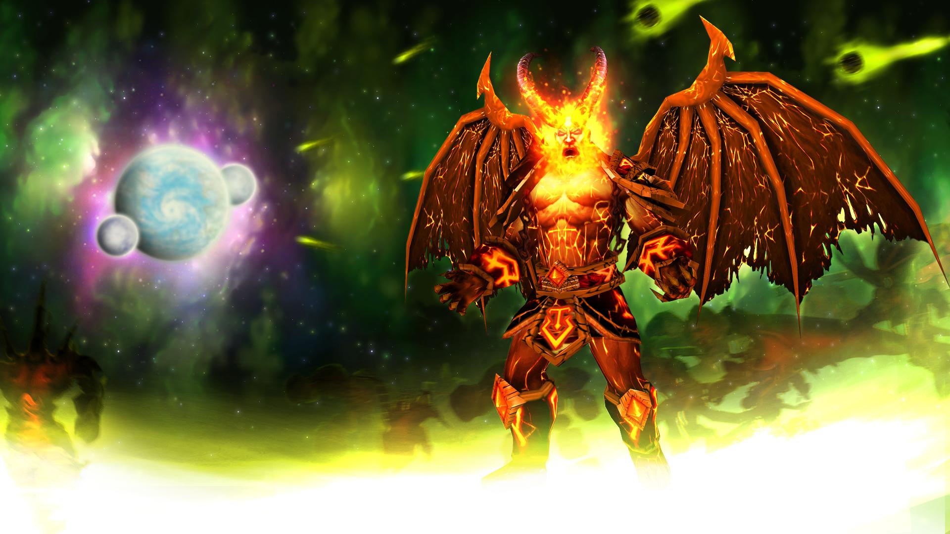 Warcraft Burning Legion Sargeras Lord Of The Burning Legion By Hipnosworld
