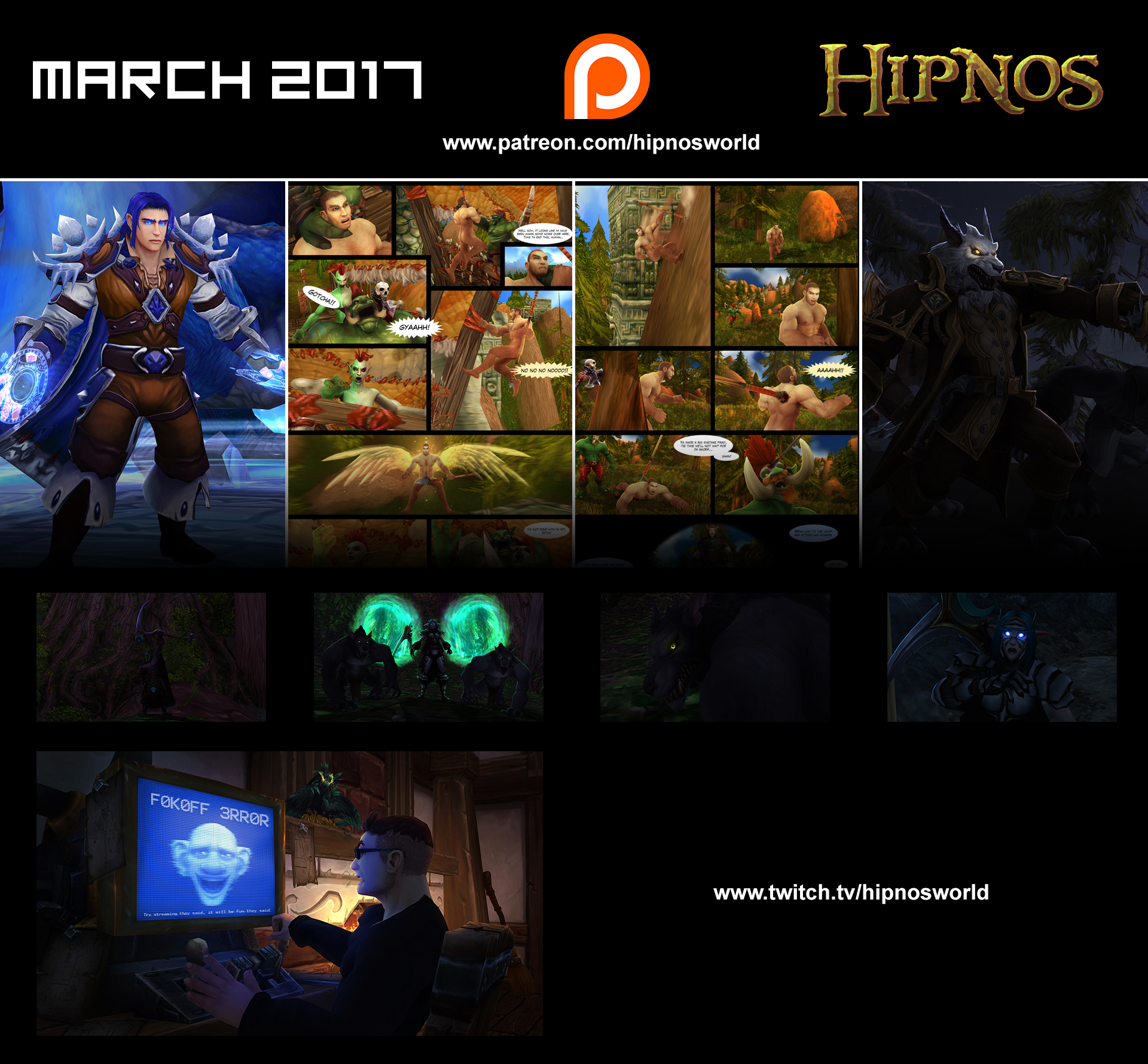 March 2017 by hipnosworld