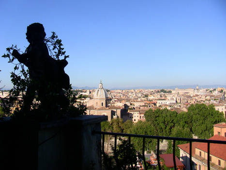 View of Rome from Cupid