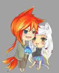 Yoru and Kaoru