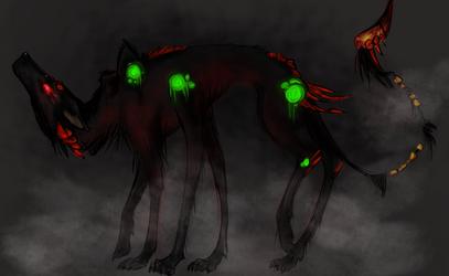 Fog Creature for Shanol by Yoruni