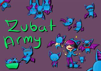Damien ZubatZ Army by Yoruni