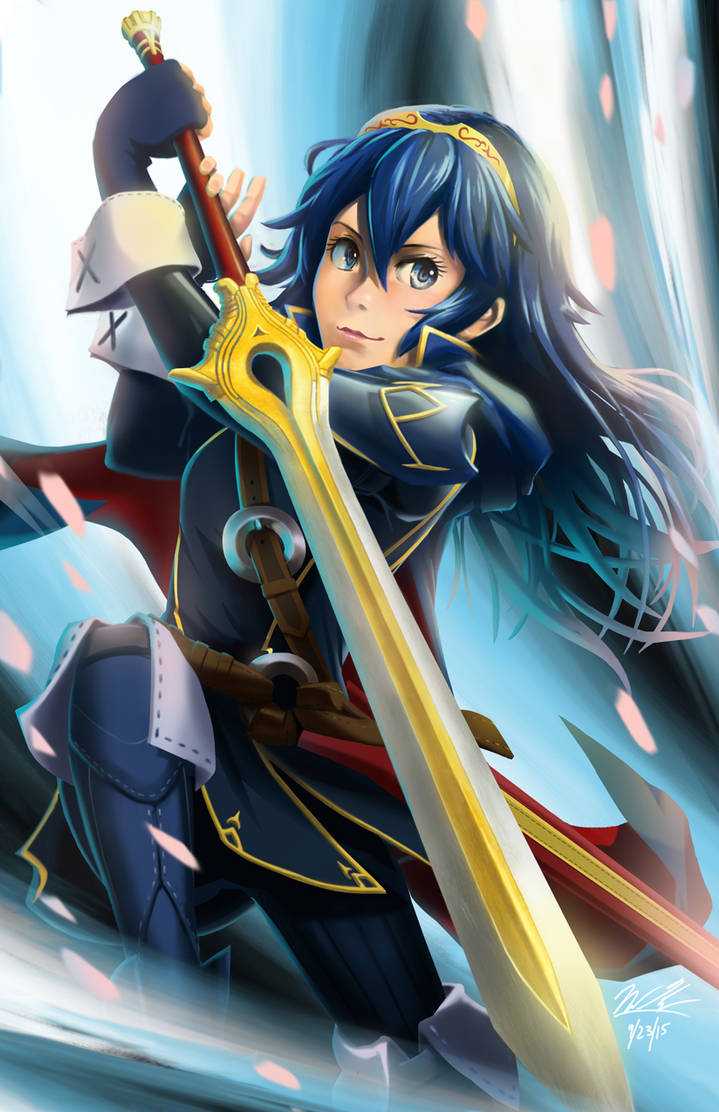 Lucina by BurntGreenTea