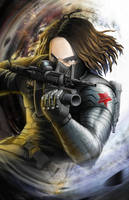 Bucky by BurntGreenTea