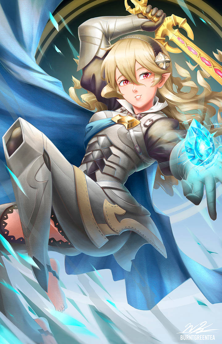 Corrin by BurntGreenTea