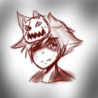 Halloween Sora by kitkat808