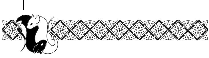 Celtic Knot Zoomorphic- Rats by realitysquared