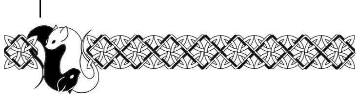 Celtic Knot Zoomorphic- Rats