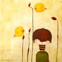Flores y pajaros by antiheroe