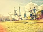 have fun in Paris by patrycjanna