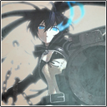 [Icon] Black Rock Shooter by xnekomoo