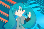Miku's in Town