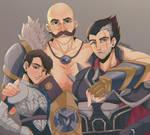 (COMMISSION) legends of legends FANART