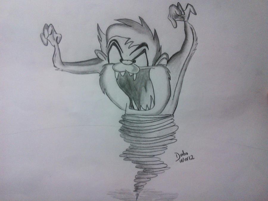 Taz Looney Tunes Drawings