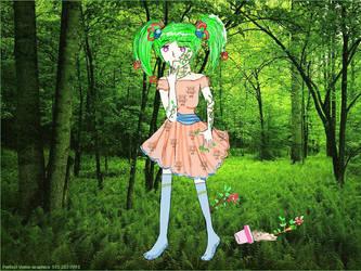 curse_tree girl by onNa26