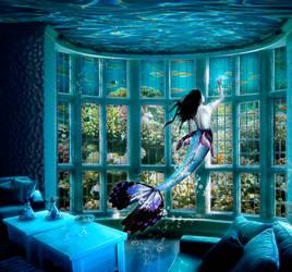Mermaid's House by Chihir0-chan