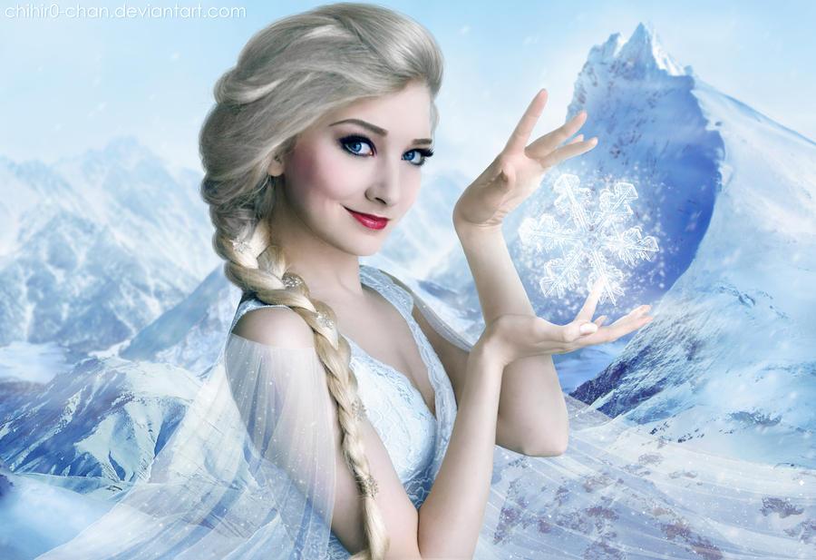 Frozen - Elsa by Chihir0-chan