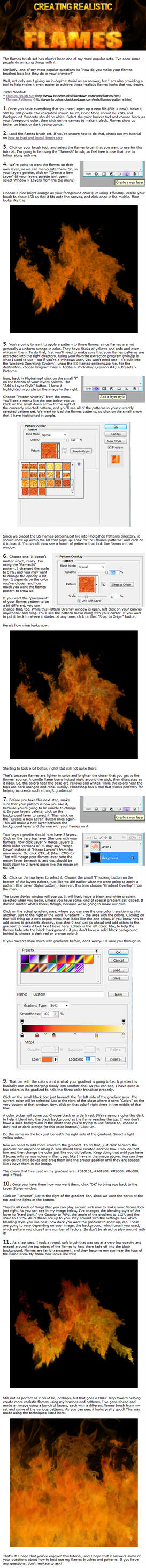 Creating Realistic Flames by redheadstock