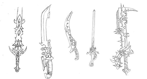 how to draw weapons pdf