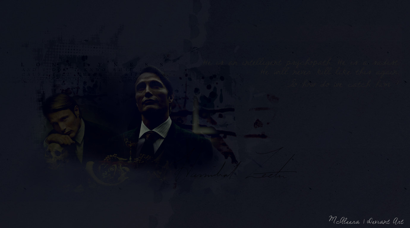 Dr Hannibal Lecter - Wallpaper #1 By