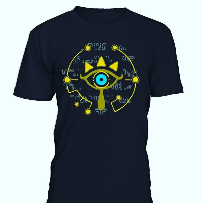 Zelda Breath of the Wild T-shirt - Golden Sheikah by ZeldaAddict777