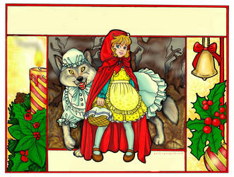 Little Red Riding Hood by Francesca-Osterlund