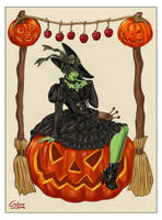 halloween greetings by Francesca-Osterlund