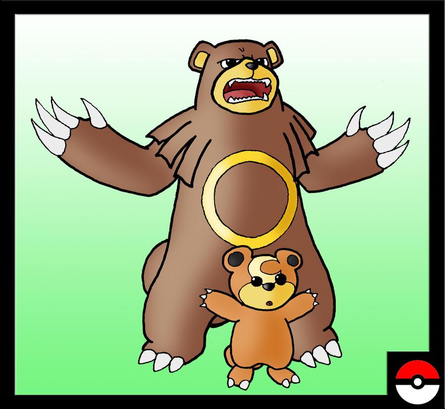 Pokemon Teddiursa Images | Pokemon Images