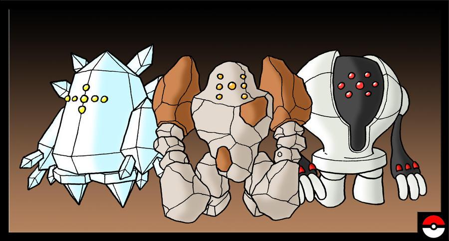 pokemon regirock registeel regice wwwimgkidcom the