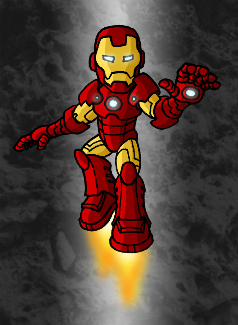 Mini marvels iron man by zappazee on deviantart - Mini iron man ...